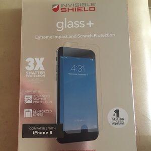 ZAGG Invisible Shield Glass + Screen Protector